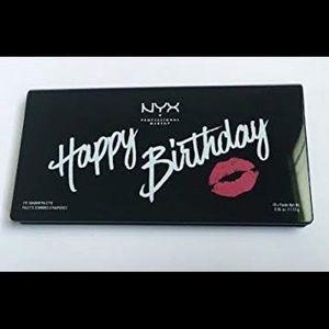 New NYX Happy Birthday Eyeshadow Palette